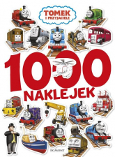 Tomek i przyjaciele 1000 naklejek -  | mała okładka