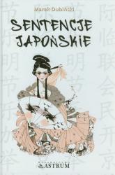 Sentencje japońskie - Marek Dubiński   mała okładka
