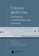 Umowa społeczna i jej krytycy w myśli politycznej i prawnej - Rau Zbigniew, Chmieliński Maciej | mała okładka