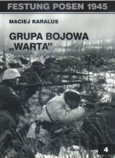 Grupa bojowa Warta - Maciej Karalus | mała okładka