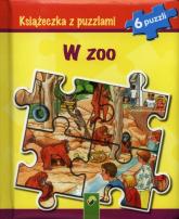 Książeczka z puzzlami W zoo 6 puzzli -  | mała okładka