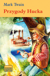 Przygody Hucka - Mark Twain | mała okładka