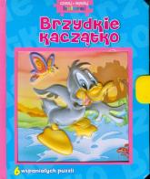 Brzydkie kaczątko Czytaj układaj koloruj - zbiorowa praca | mała okładka