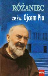 Różaniec ze św. Ojcem Pio - Małgorzata Kremer | mała okładka