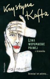 Lewa, wspomnienie prawej - Krystyna Kofta | mała okładka