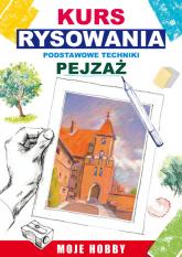 Kurs rysowania Podstawowe techniki Pejzaż - Mateusz Jagielski | mała okładka