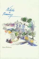 Notatki z Prowansji - Adam Wodnicki   mała okładka