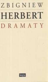 Dramaty - Zbigniew Herbert | mała okładka