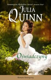 Oświadczyny - Julia Quinn   mała okładka