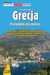 Grecja Przewodnik dla żeglarzy Wyspy Jońskie, Zachodnia część Grecji kontynentalnej, Zatoki Patraska i Koryncka, Peloponez, Zatoka - Gerd Radspieler | mała okładka