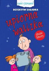 Detektyw Zagadka Upiorna walizka - Iwona Czarkowska | mała okładka