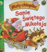 Sanie Świętego Mikołaja Mały chłopiec - Emilie Beaumont | mała okładka