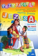 Przyjaciele Jezusa zabawy dla dzieci z bohaterami Ewangelii -  | mała okładka