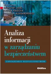 Analiza informacji w zarządzaniu bezpieczeństwem -  | mała okładka