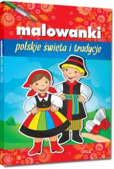 Malowanki polskie święta i tradycje -    mała okładka