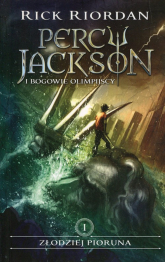 Percy Jackson i bogowie olimpijscy Tom 1 Złodziej Pioruna - Rick Riordan | mała okładka