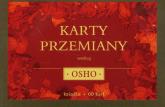 Karty przemiany według Osho + karty - Osho | mała okładka