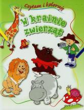 W krainie zwierząt Czytam i koloruję - Anna Wiśniewska   mała okładka