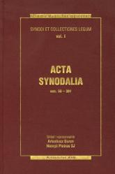 Acta synodalia Dokumenty synodów od 50 do 381 roku Synody i Kolekcje Praw  tom 1 -  | mała okładka