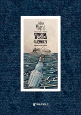 Tajemnicza wyspa - Juliusz Verne | mała okładka
