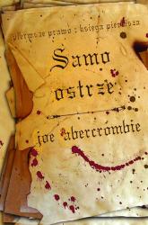 Samo Ostrze Pierwsze Prawo Księga Pierwsza - Joe Abercrombie | mała okładka
