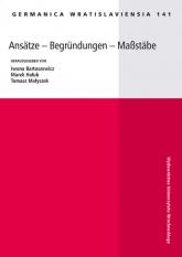 Ansatze - Begrundungen - Maßstäbe -  | mała okładka