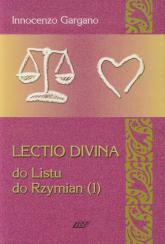 Lectio Divina 15 Do Listu do Rzymian 1 - Innocenzo Gargano   mała okładka