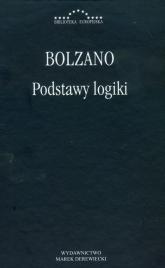Podstawy logiki - Bolzano   mała okładka