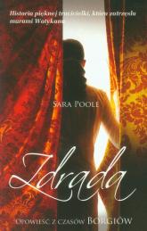 Zdrada - Sara Poole | mała okładka