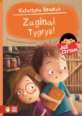 Zaginął Tygrys! Już czytam! - Katarzyna Szestak | mała okładka