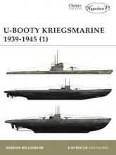 U-Booty Kriegsmarine 1939-1945 - Gordon Williamson | mała okładka