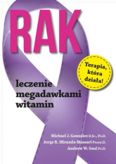 Rak Leczenie megadawkami witamin - Gonzalez Michael J., Miranda-Massari Jorge R., Saul Andrew W. | mała okładka