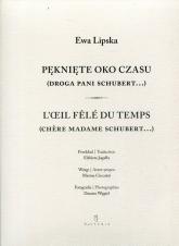 Pęknięte oko czasu - Ewa Lipska | mała okładka