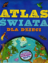 Atlas świata dla dzieci - Jen Green | mała okładka