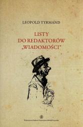 Listy do redaktorów Wiadomości Tom 3 - Leopold Tyrmand | mała okładka