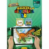 Magiczna kolorowanka 3D Dino -    mała okładka