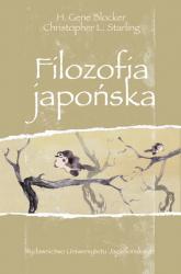 Filozofia japońska - Blocker H. Gene, Starling Christopher L.   mała okładka