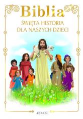 Biblia Święta historia dla naszych dzieci -    mała okładka