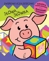 Słowa słówka Ruchome elementy Książka rozkładanka - Siwek Jan Kazimierz | mała okładka
