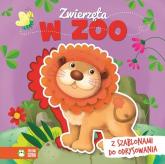 Książka z szablonem Zwierzęta w zoo -    mała okładka