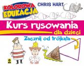 Kurs rysowania dla dzieci Zacznij od trójkąta - Christopher Hart | mała okładka