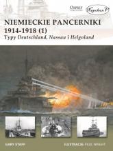 Niemieckie pancerniki 1914-1918 (1) Typy Deutschland Nassau i Helgoland - Staff Gary | mała okładka