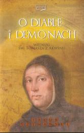 O diable i demonach według św. Tomasza z Akwinu - Jakub Szymański | mała okładka