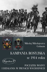 Kampania rosyjska 1914 roku - Gołowin Mikołaj M.   mała okładka