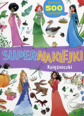 Supernaklejki Księżniczki -  | mała okładka