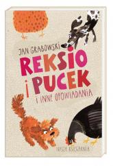 Reksio i Pucek i inne opowiadania - Jan Grabowski | mała okładka