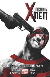 Uncanny X-Men: Dobry, zły, Inhuman Tom 3 - Bendis Brian Michael, Bachalo Chris, Anka Kris, Rudy Marco | mała okładka