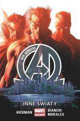 New Avengers  Inne światy Tom 3 - Hickman Jonathan, Bianchi Simone, Morales Rags | mała okładka