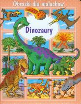 Dinozaury Obrazki dla maluchów - Emilie Beaumont | mała okładka
