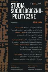 Studia Socjologiczno-Polityczne 1-2/2016 -  | mała okładka